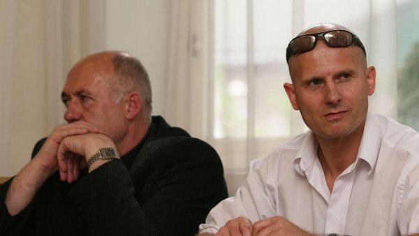 Pavla Šrytra (vpravo)  soud osvobodil.