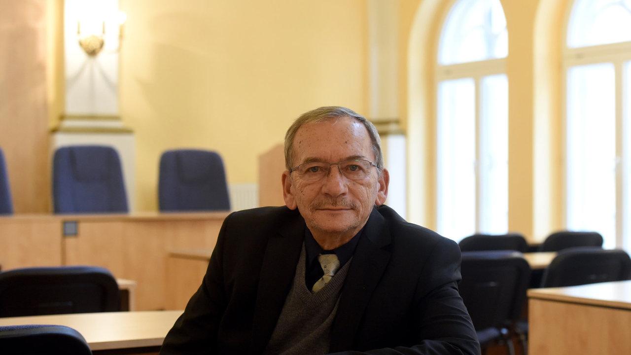 Senátor Jaroslav Kubera.