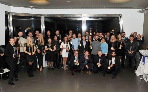 Čeny českým vítězům soutěže byly předány v restauraci Oblaca na Žižkovské věži.
