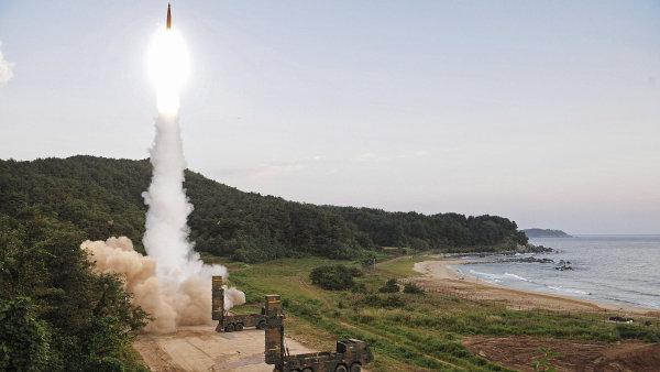 Jižní Korea provádí vojenská cvičení v reakci na test KLDR