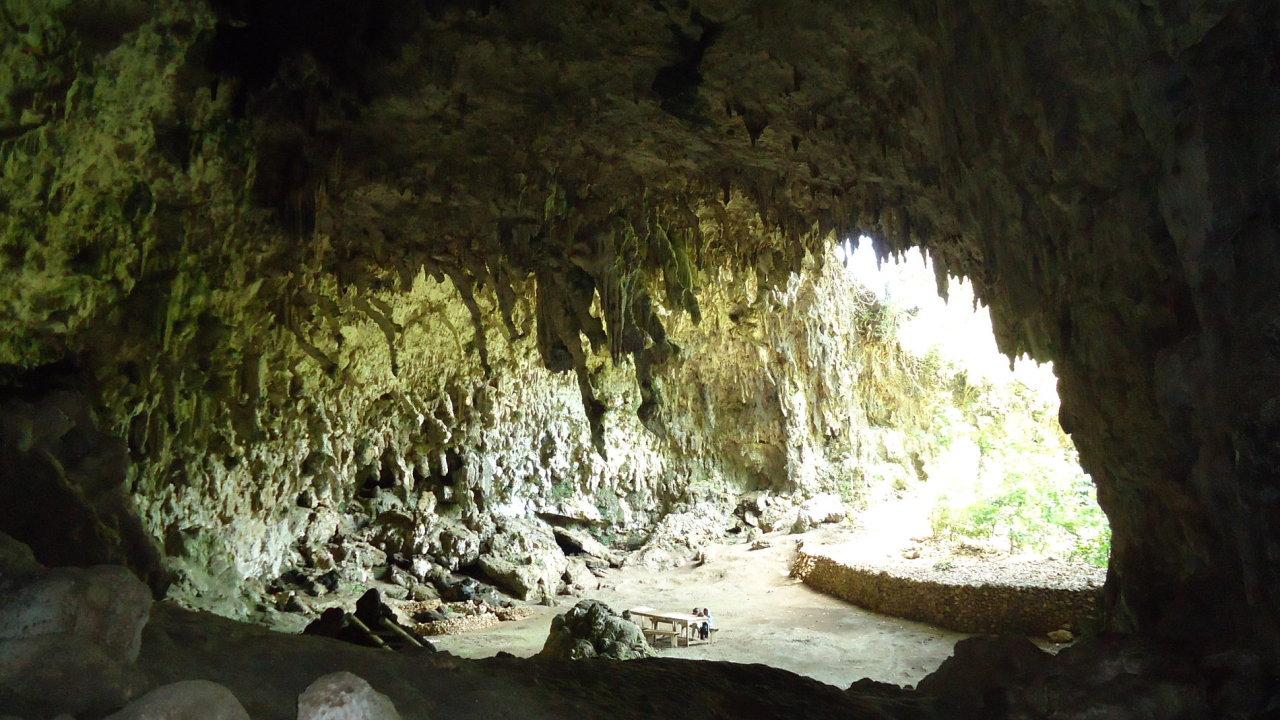 Jeskyně, ilustrační foto