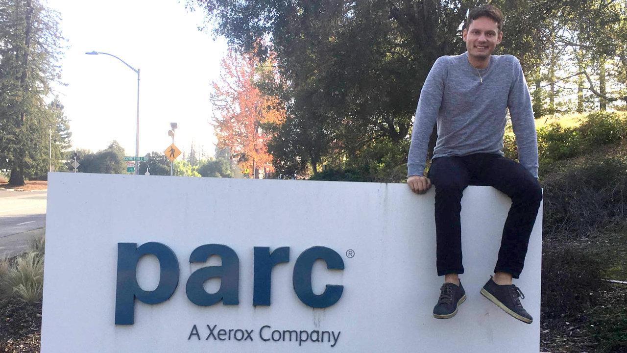 Česká dvojka z PARC: Filip Dvořák v elitním IT centru pracuje skoro dva roky. Filip Masri je v něm na roční stáži.