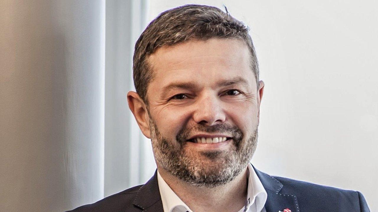 David Žežulka, obchodní a marketingový ředitel DPD