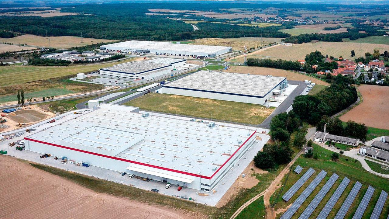 Jedním z větších projektů minulého roku byl sklad o rozloze 23 tisíc metrů čtverečních pro firmu KION Group u Stříbra.