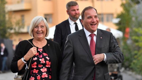 Současný premiér a lídr sociálních demokratů Stefan Löfven.