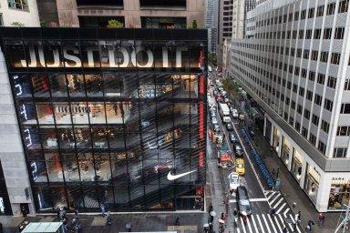 Tržby americké sportovní značky Nike vzrostly o sedm procent na 9,61 miliardy dolarů.