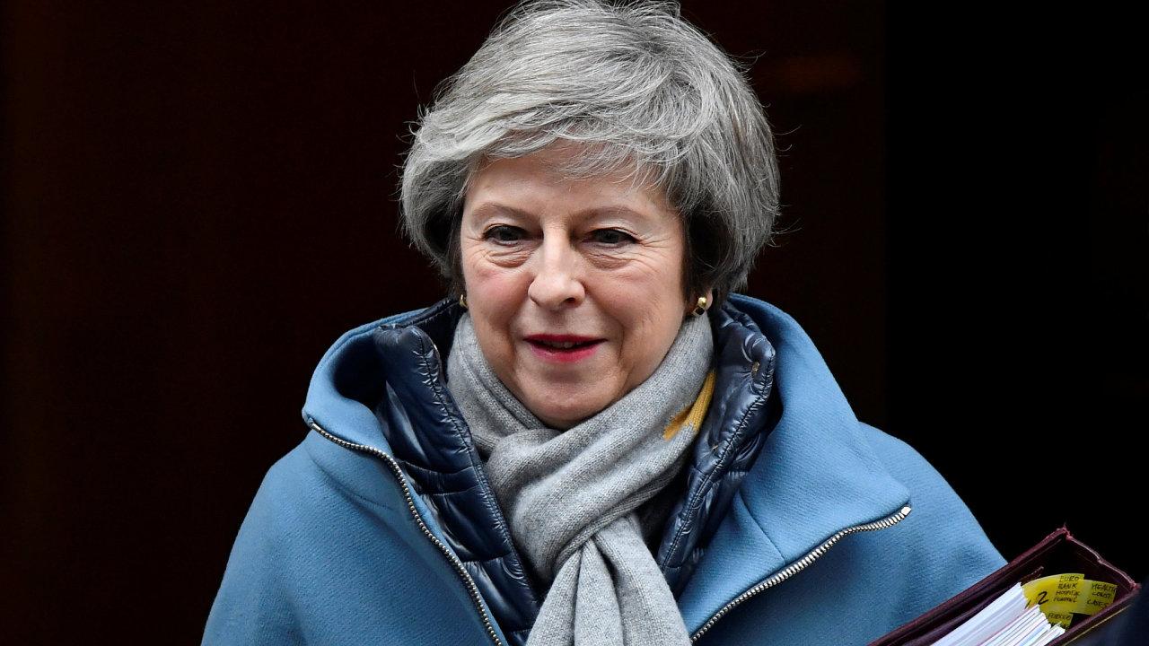 Mayová napsala, že odmítnutí brexitové dohody s EU by znamenalo porušení důvěry v demokracii.