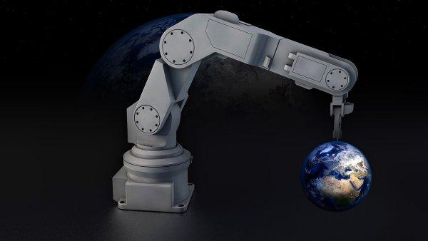 Profese budoucnosti, robotizace, ilustrace