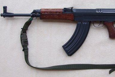 Československá útočná puška SA vz. 58 P.