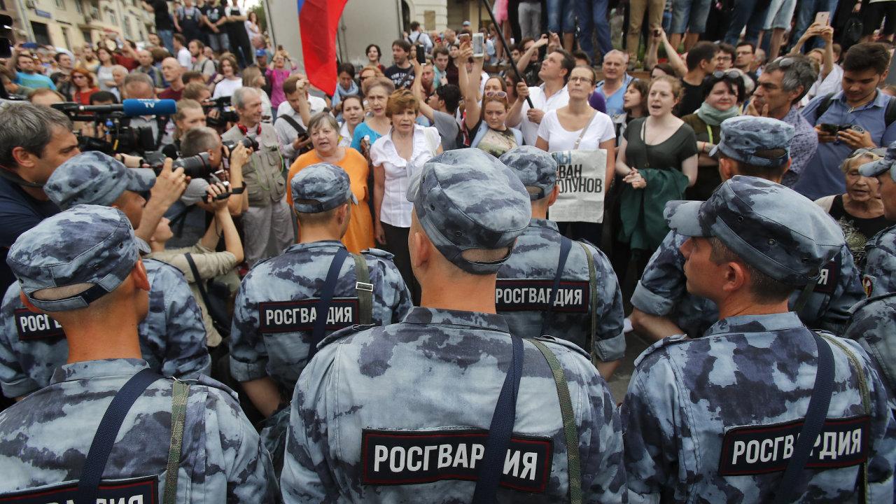 Protesty, Moskva