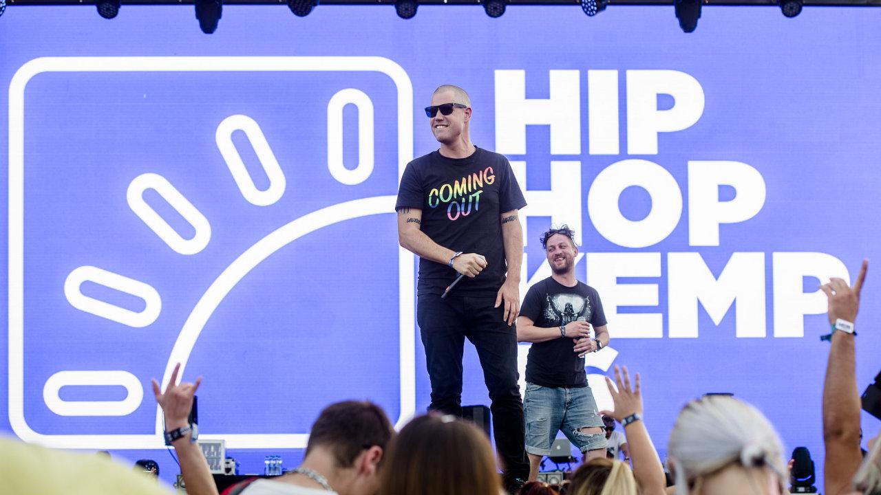 Snímek z prvního dne Hip Hop Kempu.