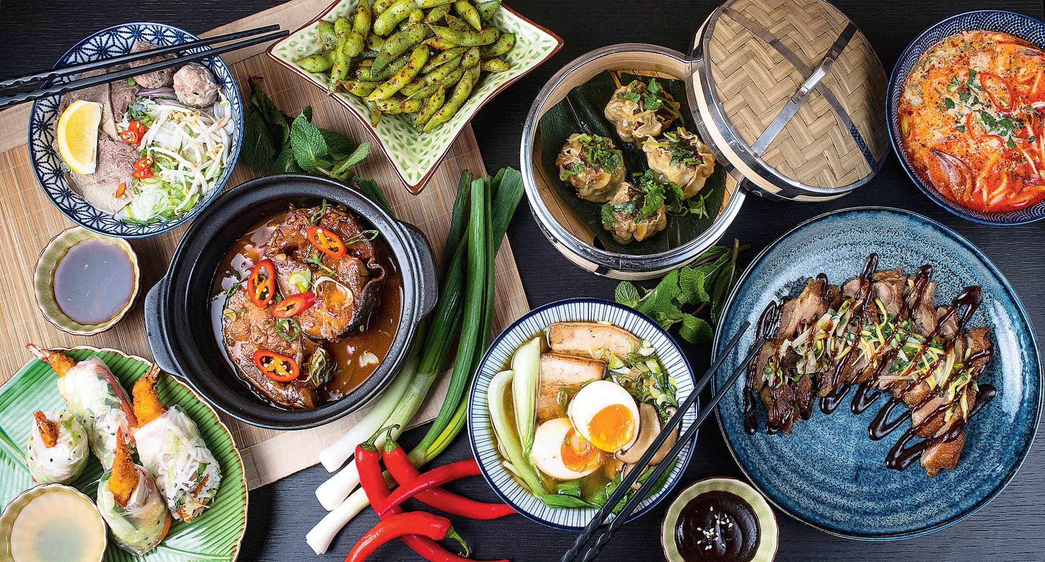 Public Chilli sází na kreativně pojatou asijskou kuchyni.