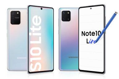 Samsung Galaxy S10 lite a Note 10 lite  mají nižší ceny a odpovídající kompromisy