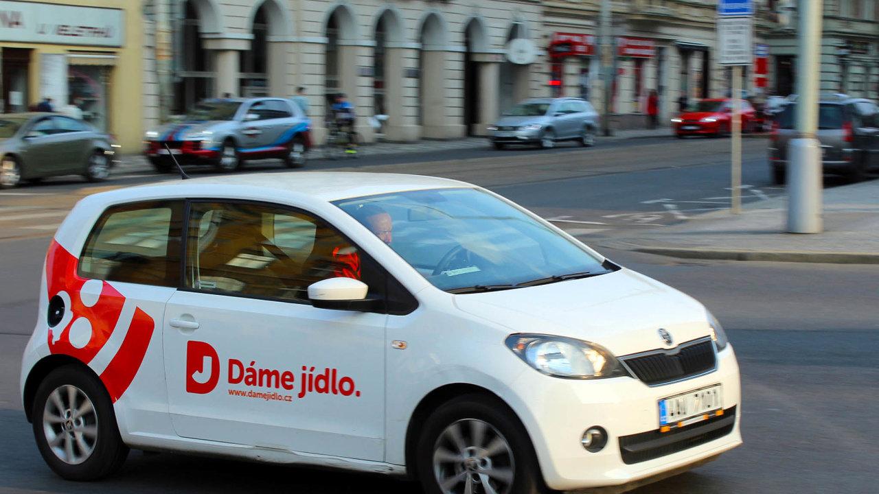 Dáme Jídlo je lídrem českého trhu s rozvážkou jídla z restaurací.