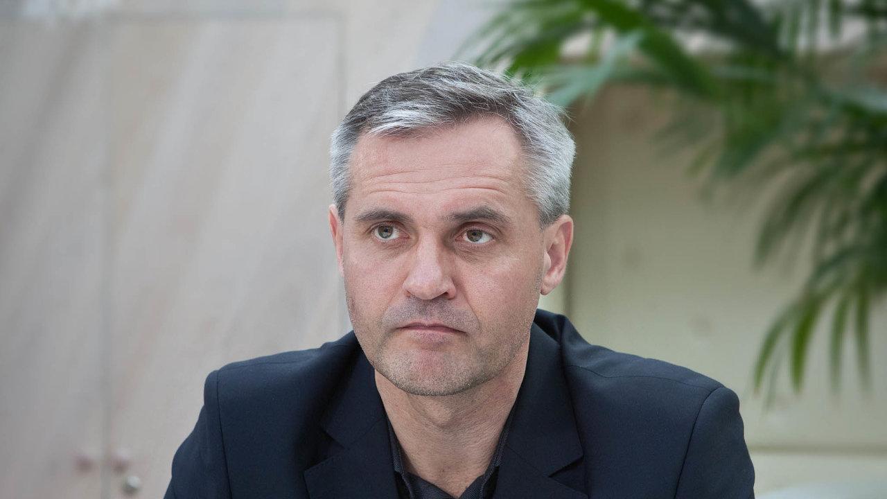 Ředitel společnosti Golem Finance Libor Ostatek