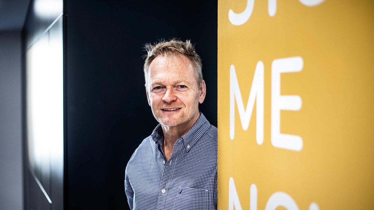 Podnikatel Matt East, zakladatel skupiny GTS Alive.