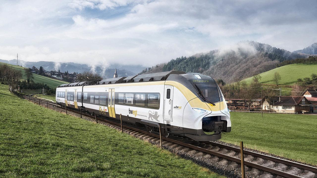 Novinka nakolejích: Elektrický vlak Mireo odSiemensu má povolení vyjet natratě vNěmecku. Navývoji se podíleli iČeši.