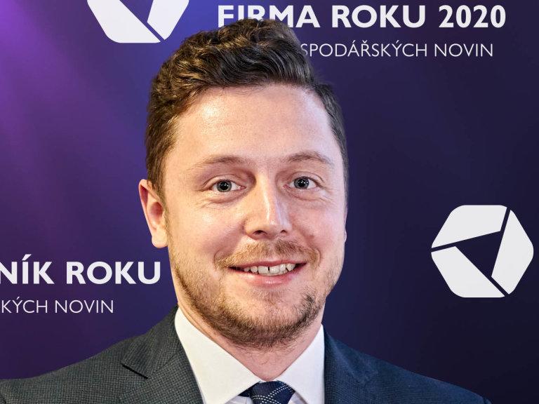 Petr Kapoun, ředitel společnosti S.A.B. Aerospace, Vodafone Firma roku 2020 Jihomoravského kraje