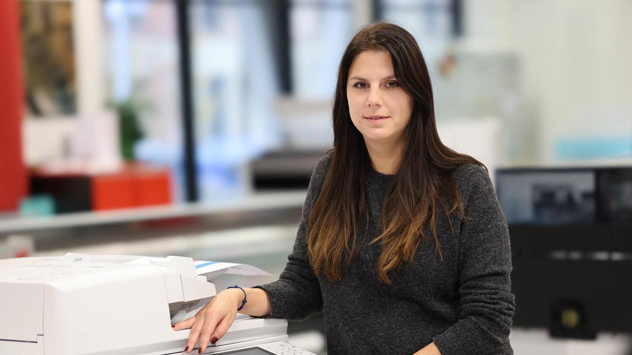 Eva Kučmášová je ředitelkou marketingu a komunikace pro střední Evropu ve firmě Canon