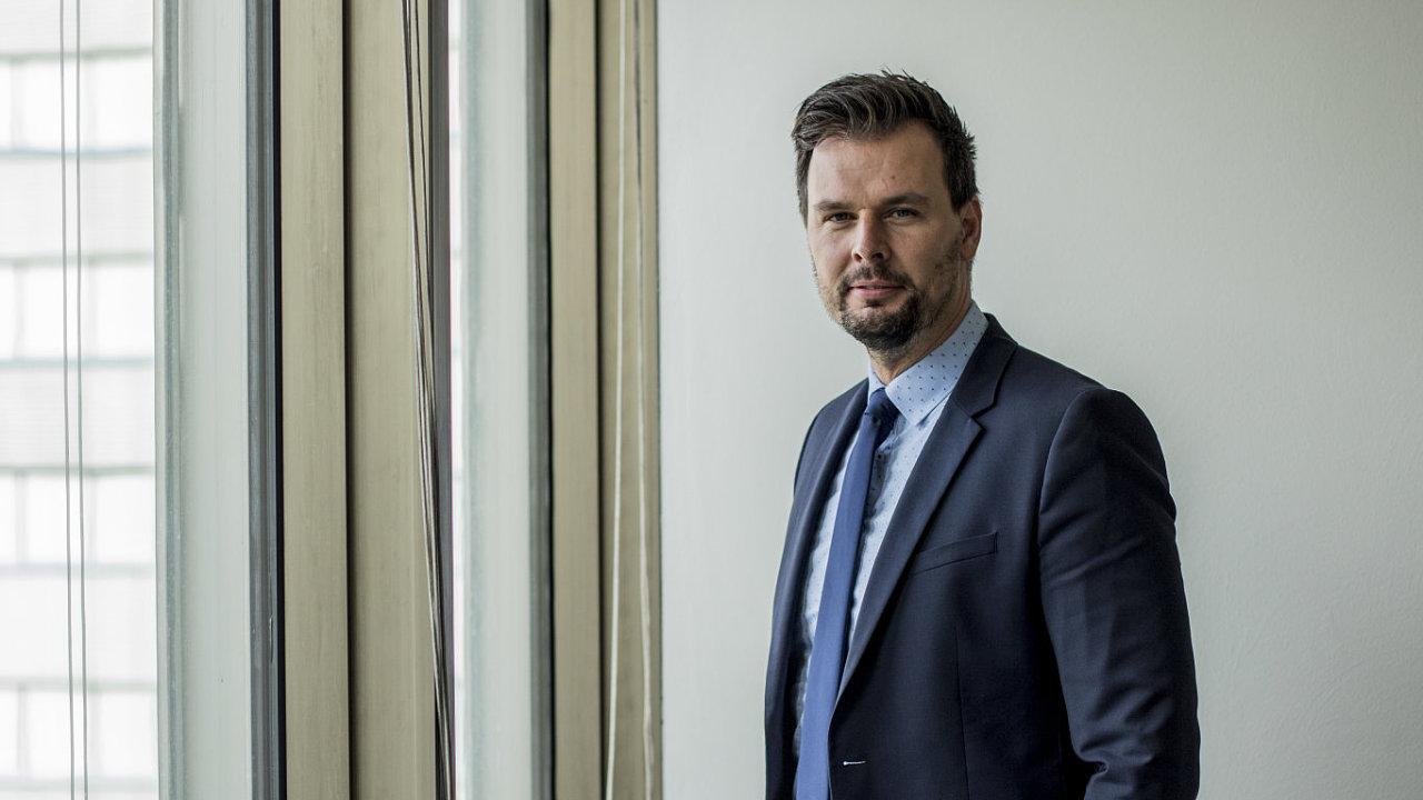 Vladimír Dzurilla, vládní zmocněnec pro digitalizaci.