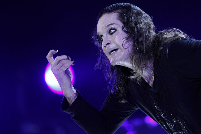 Ozzy Osbourne při jednom ze svých nedávných koncertů