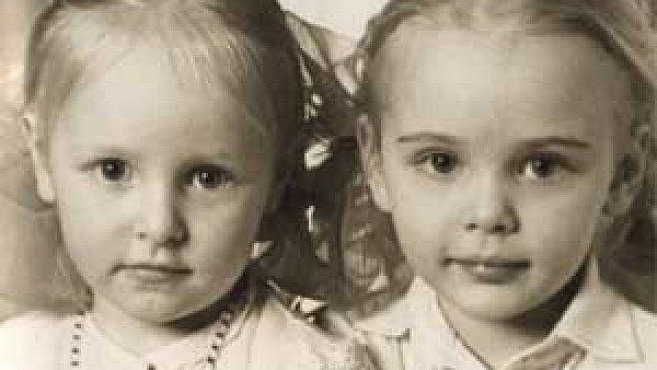 Dcery Vladimira Putina M�a (vpravo) a K�a