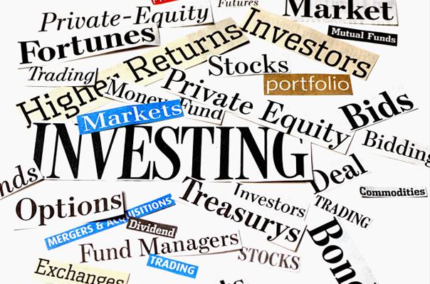 Investice, cenné papíry, trh, ilustrační foto.