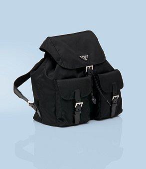 Miuccia Prada vtrhla do světa luxusu s batůžkem a kabelkami z ...
