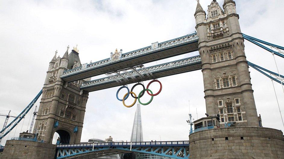 Londýn během olympijských her 2012