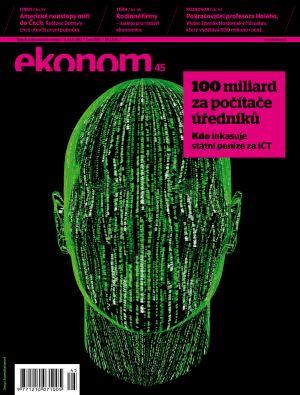 Týdeník Ekonom - č. 45/2012
