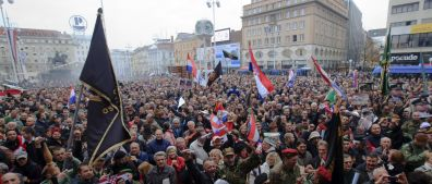 Chorvati slaví, Gotovina vyjde na svobodu
