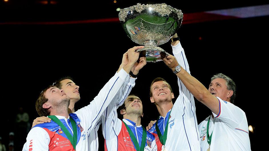 Český triumf v Davis Cupu 2012