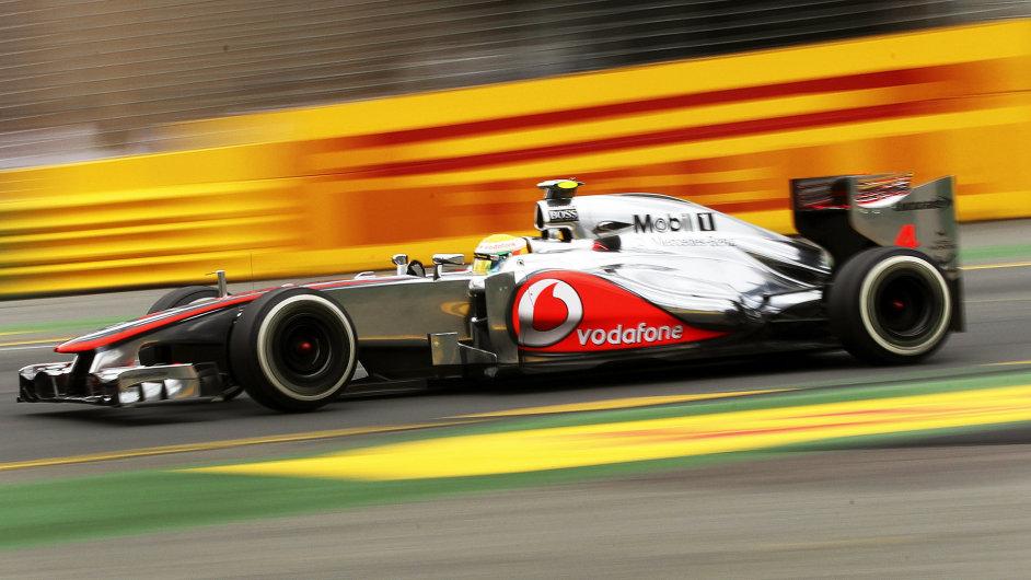 formule  F1 v  australském Melbourne