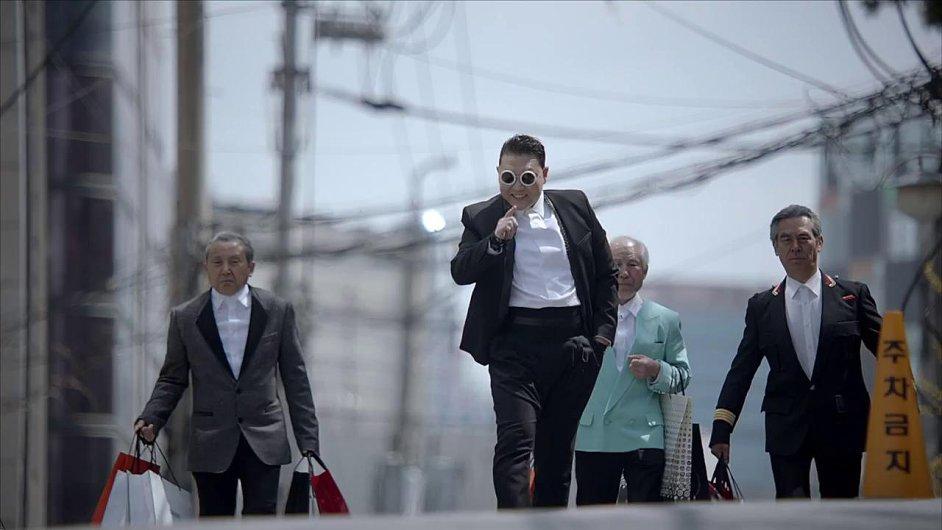 PSY a jeho klip Gentleman
