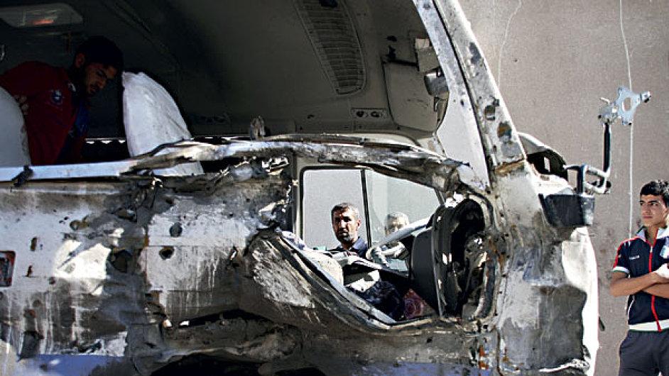 Útoky v Iráku, ilustrační foto