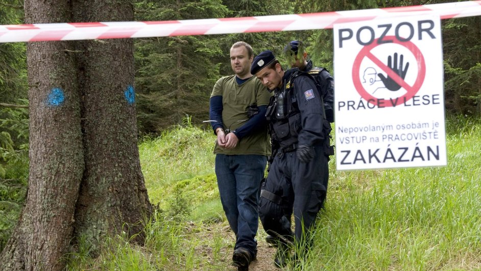 Policie zasahuje proti ekologickým aktivistům v NP Šumava.
