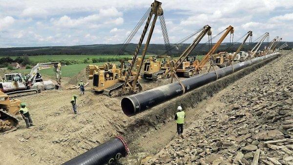 Stavbu plynovodu Nord Stream 2 komplikují americké sankce. - Ilustrační foto