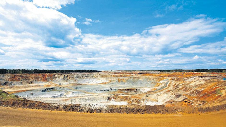 Zlatý důl společnosti Polymetal