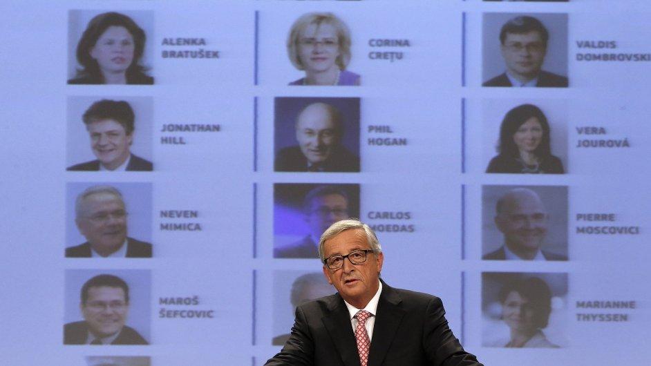 Šéf Evropské komise Jean-Claude Juncker svým výběrem zklamal řadu českých politiků.