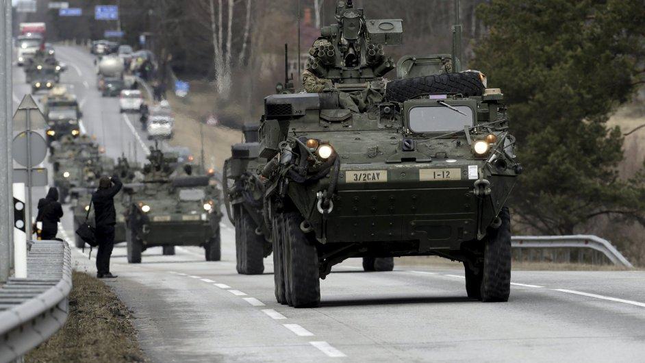 Mezi 29. březnem a 1. dubnem by měl Českem projet konvoj americké armády.