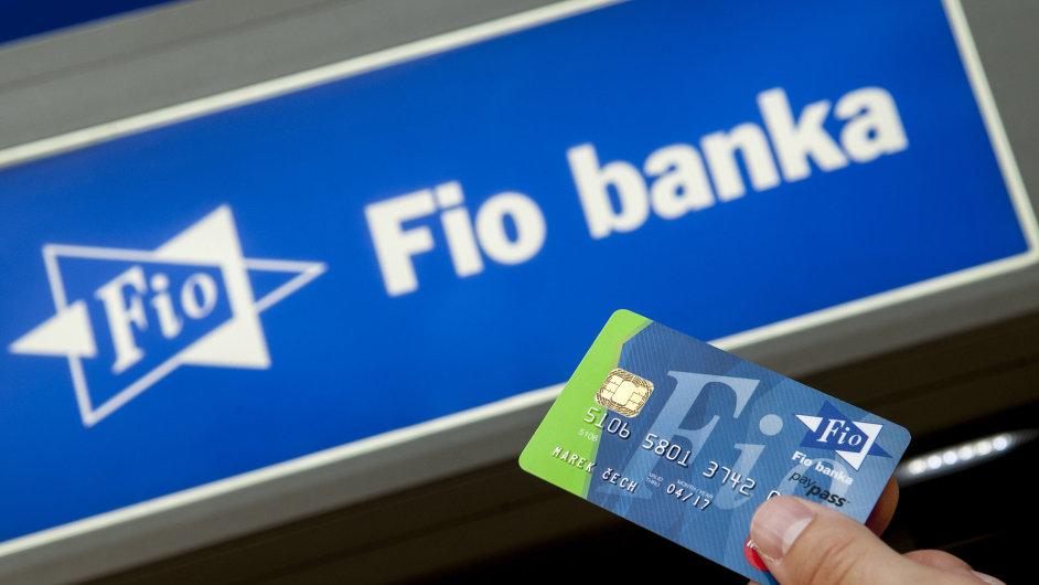 Fio banka - ilustrační foto.
