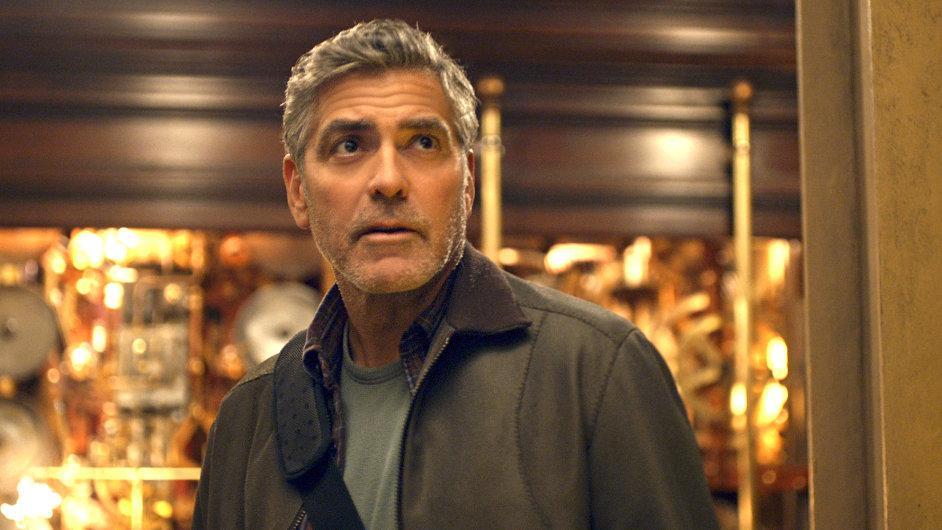 Na film Země zítřka měl diváky do kin přitáhnout George Clooney.