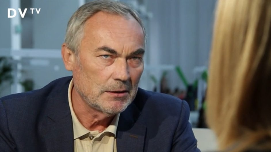 Politolog Bořivoj Hnízdo.
