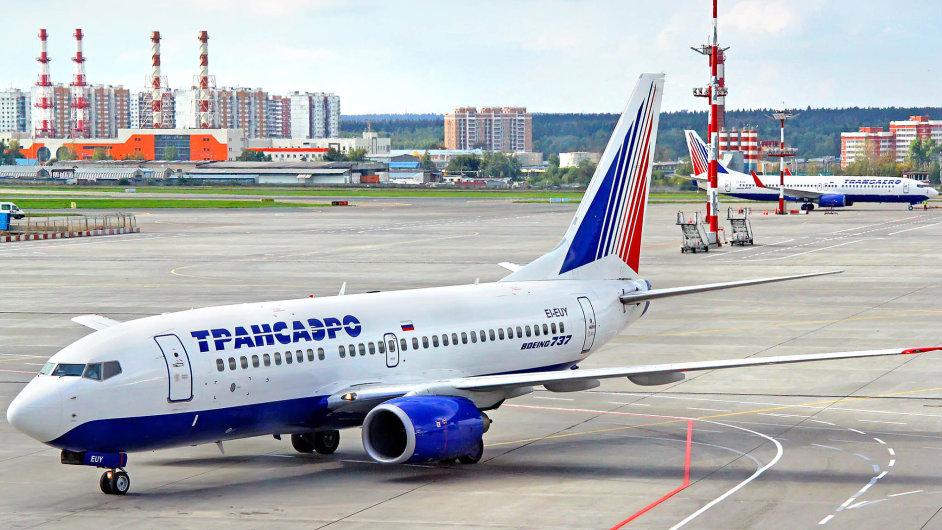 Společnost Aeroflot za prvních devět měsíců letošního roku dosáhla na čistý zisk ve výši 1,8 miliard rublů - Ilustrační foto.