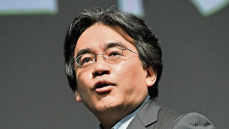 Satoru Iwata, zesnulý prezident a generální ředitel společnosti Nintendo