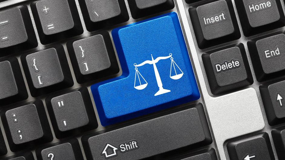 Internetové právo - Ilustrační foto