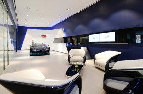 Bugatti otevírá nové showroomy, ačkoliv nemá co prodávat