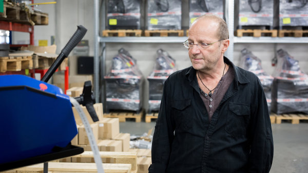 Petr Ma�ek, spoluzakladatel a majitel firmy Pilous.
