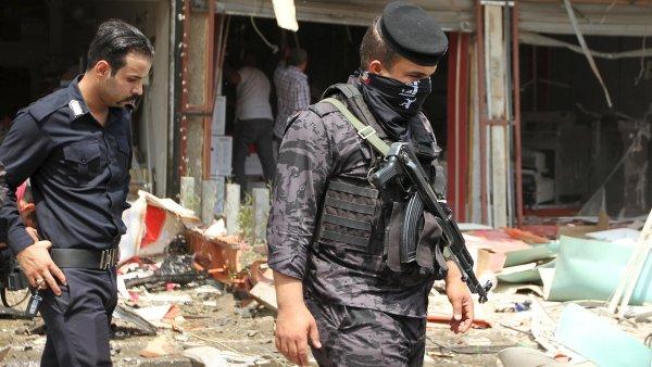 Irácké bezpečnostní složky - Ilustrační foto.