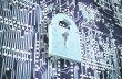 Bezpečnost, data, ICT, ilustrace
